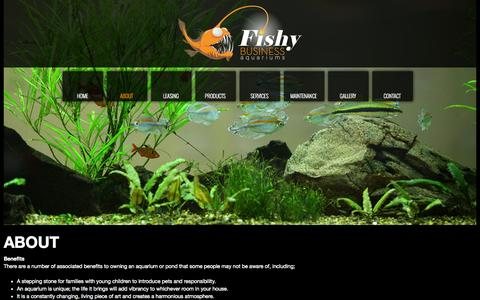 Screenshot of About Page fishybusiness.net.au - About Us | About Fishy Business - captured Oct. 6, 2014
