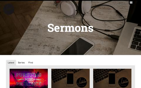 Screenshot of Press Page jubilee.org.uk - Jubilee Church Derby | Sermons - captured Aug. 5, 2015
