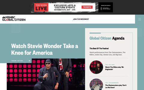 Global Citizen Festival 2017   NBC News