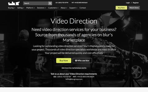 Hire A Video Director | blur Group