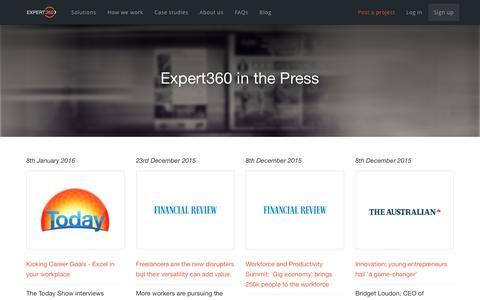 Expert360 in the Press - Expert360