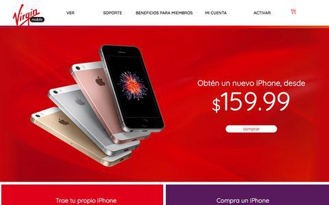 Página de Inicio | Virgin Mobile