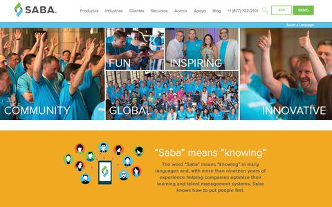 Screenshot of Jobs Page saba.com - Saba Careers - Work for Saba - captured July 17, 2017