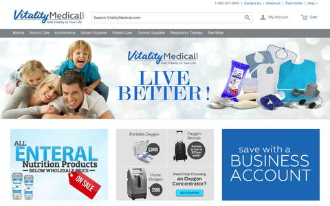 Vitality Medical | Medical Supplies