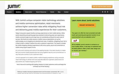 Mobile Commerce Optimization - Jumio.com