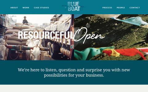 Screenshot of Team Page blueboat.com.au - Team blueboat | Blueboat - captured Jan. 6, 2016