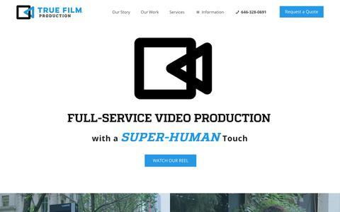 NYC Corporate Video Production Company - New York NY