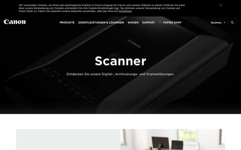 Canon Scanner für Zuhause und das Büro – Canon DE