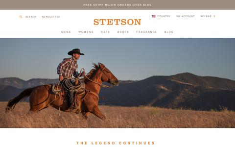Stetson :: Home