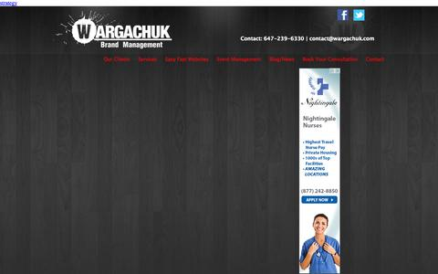 Screenshot of Privacy Page wargachuk.com - Privacy - captured Oct. 27, 2014