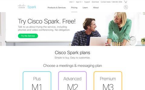 Cisco Spark Plans