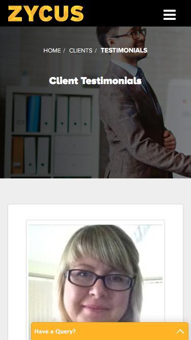 Customer Testimonials - Zycus
