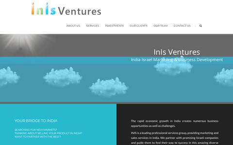 Screenshot of Home Page inis-ventures.com - Inis-Ventures – Inis-Ventures - captured July 26, 2018