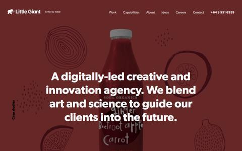 Digital Agency Auckland, NZ | Website Design - Little Giant