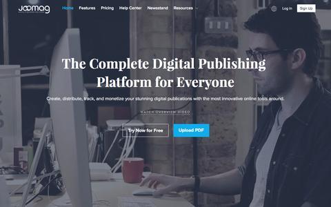 Digital Publishing Platform for Everyone | Joomag