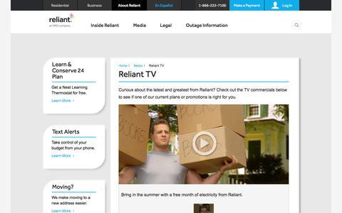 Reliant TV | Reliant