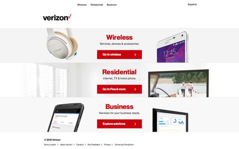 Verizon FiOS & Custom TV | Internet, Cable & Phone