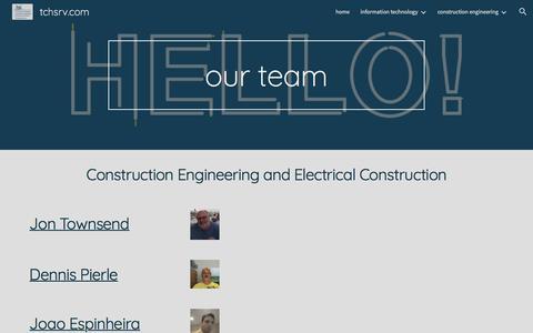 Screenshot of Team Page google.com - tchsrv.com - team - captured Nov. 15, 2017