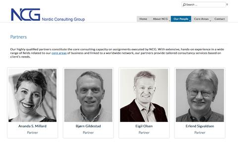 Screenshot of Team Page ncg.no - Partners - captured Oct. 22, 2017