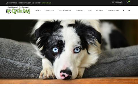 Screenshot of Signup Page cycledog.com - Cycle Dog-Earth Friendly Pet Company - captured Oct. 22, 2018