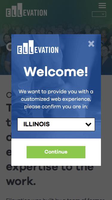 Screenshot of Team Page  ellevationeducation.com - Our Team | Ellevation Education