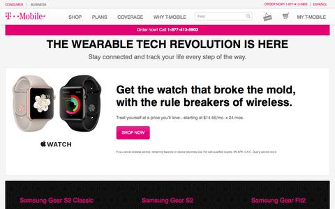 Wearable Technology | Apple Watch, Samsung Gear & More | T-Mobile