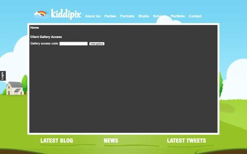 Screenshot of Login Page kiddipix.co.uk - Kiddipix - Kiddipix Gallery Login - captured Oct. 27, 2014
