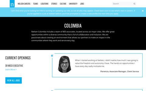 Colombia – Nielsen Careers