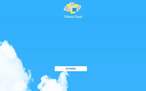 Screenshot of About Page Privacy Page tribecacloud.com - Tribeca Cloud - captured Dec. 16, 2016