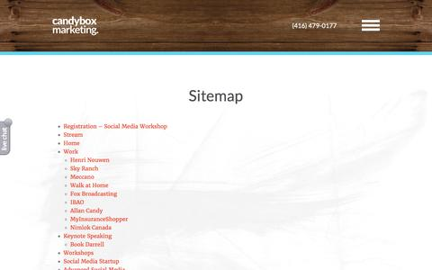 Sitemap | Candybox Marketing