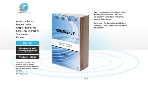 Coherence Book | Dr Alan Watkins | The Secret Science of Brilliant Leadership : Coherence Book