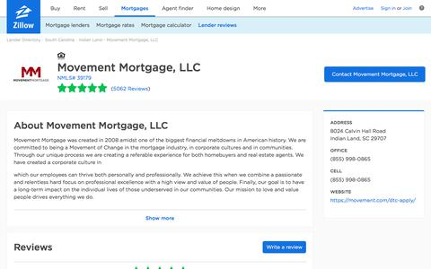 Movement Mortgage, LLC Ratings and Reviews   Zillow