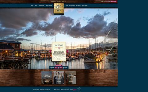 Screenshot of Home Page pier2620hotel.com - Fishermans Wharf Hotel | Pier 2620 Hotel | Pier 39 Hotels - captured Oct. 2, 2014