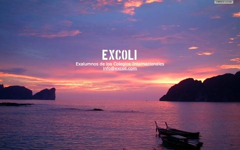Screenshot of Home Page excoli.com - EXCOLI - captured Oct. 1, 2014