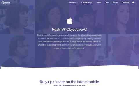 Realm ♥ Objective‑C