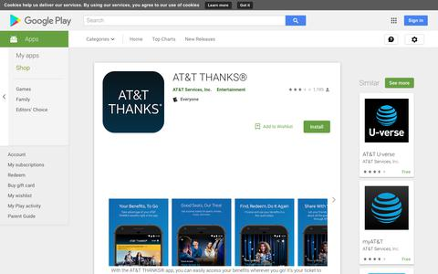 AT&T THANKS® - Apps on Google Play