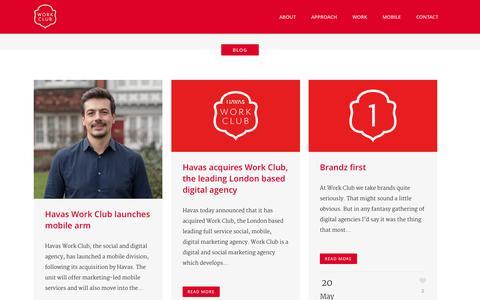 Screenshot of Blog work-club.com - Work Club |   Blog - captured Sept. 23, 2014