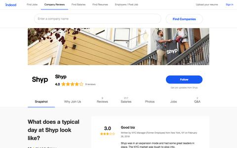 Shyp Careers and Employment | Indeed.com