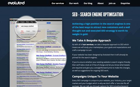 SEO Sheffield – Contact Evoluted To Find Out More
