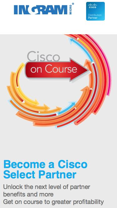 Become Cisco Select Partner