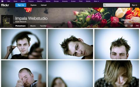 Screenshot of Flickr Page flickr.com - Flickr: Impala Webstudio's Photostream - captured Oct. 22, 2014