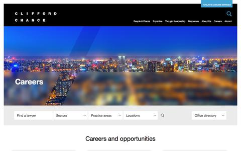 Clifford Chance | Careers