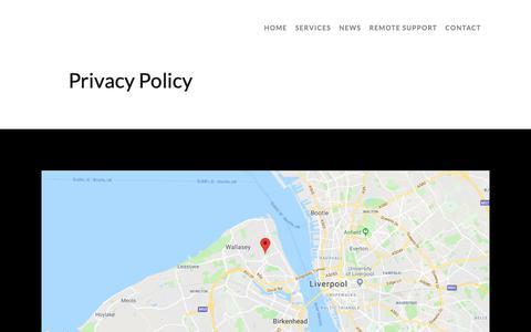 Screenshot of Privacy Page capnet.co.uk - Blog - Capital Networks - captured Sept. 26, 2018