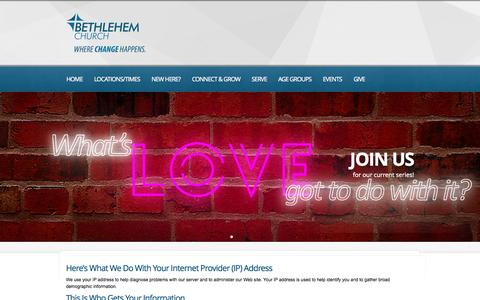 Screenshot of Privacy Page bethlehembc.com - Privacy Policy  |  Bethlehem Church | Gastonia / Belmont / Bessemer City N.C.  | a contemporary church in Gastonia NC - captured Oct. 5, 2014