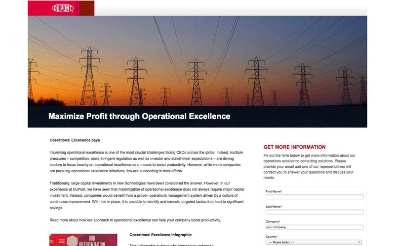 Operational Excellence| DuPont Operations Excellence Consulting