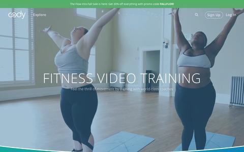 Cody | Online Fitness Videos