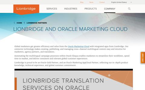 Connectors for Oracle Marketing Cloud and Oracle Eloqua