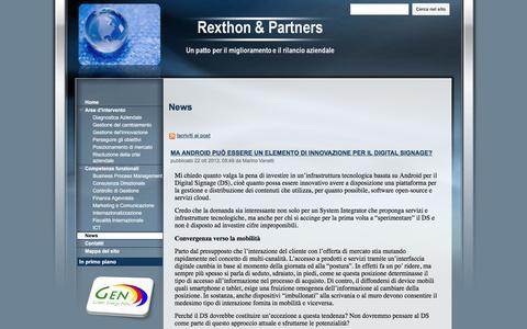 Screenshot of Press Page google.com - News - Rexthon & Partners - captured Nov. 30, 2016