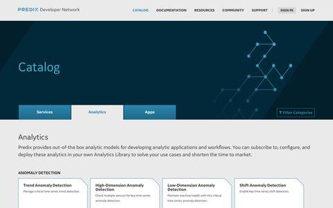The Place to Start Your Custom IoT App | Predix.io