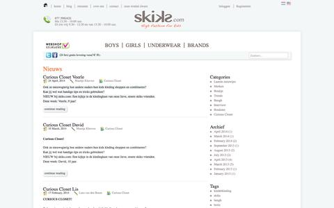 Screenshot of Blog skiks.com - Blog - Skiks.com - captured Oct. 7, 2014